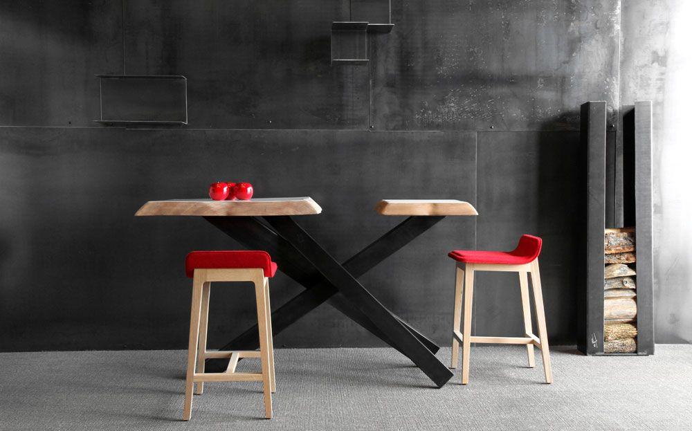 table haute sur mesure