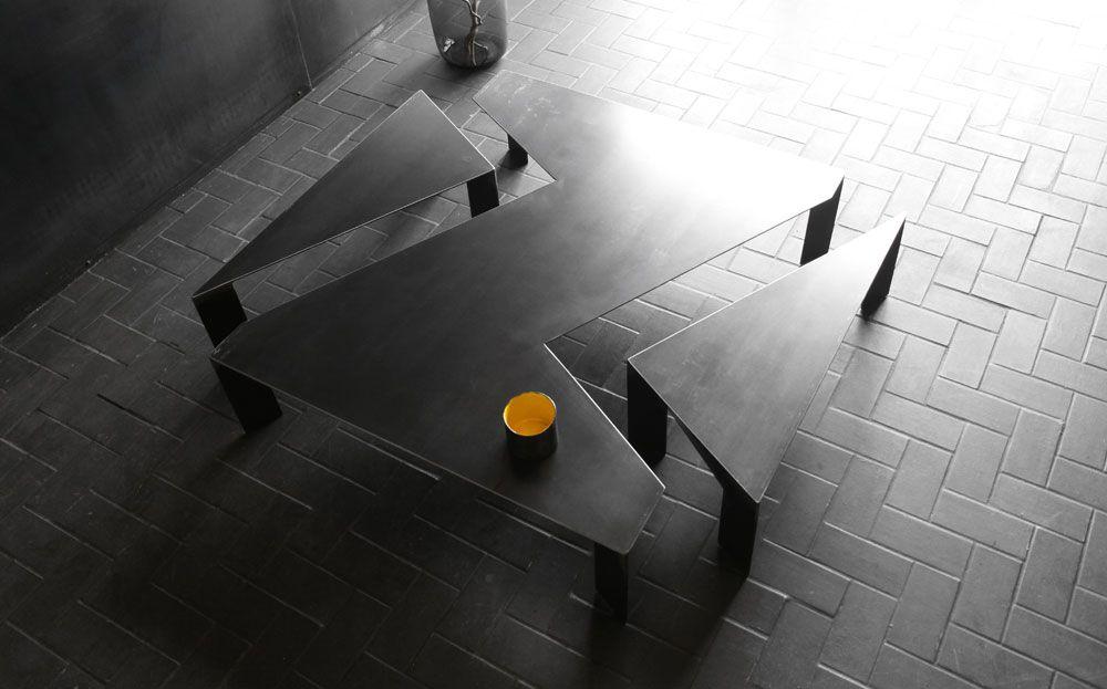 table acier sur mesure
