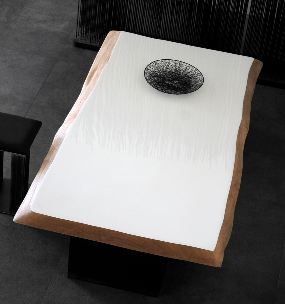 table basse sur mesure