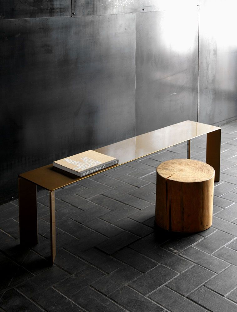 Banc bois design