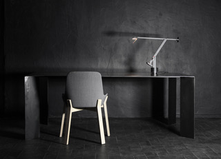 Table haute en metal sur mesure