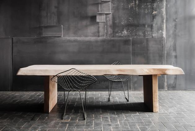 table sur mesure bois