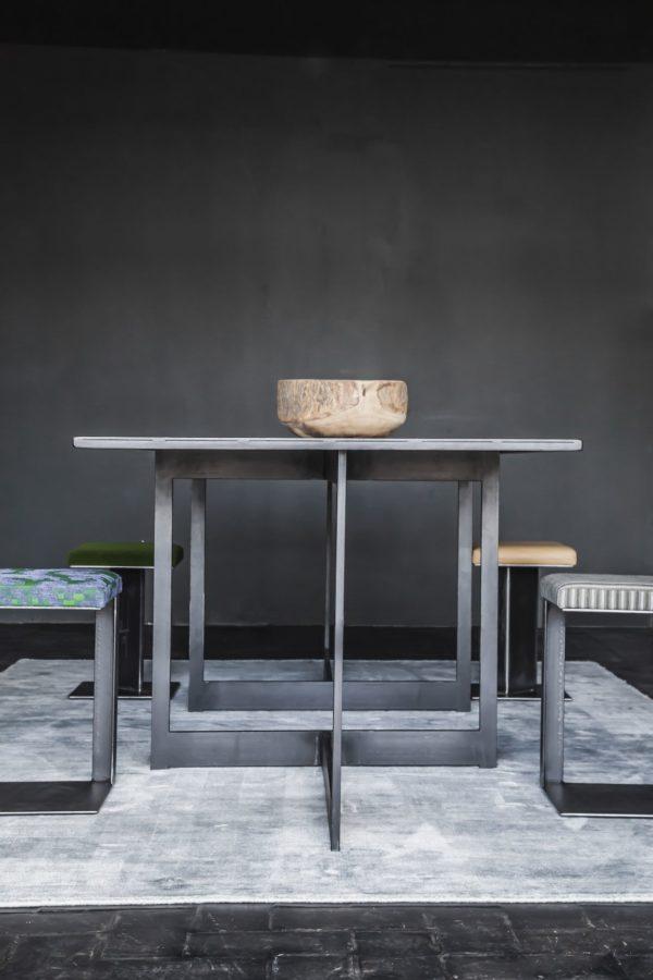 table acier twist