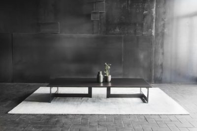 table basse acier blunt manufacture
