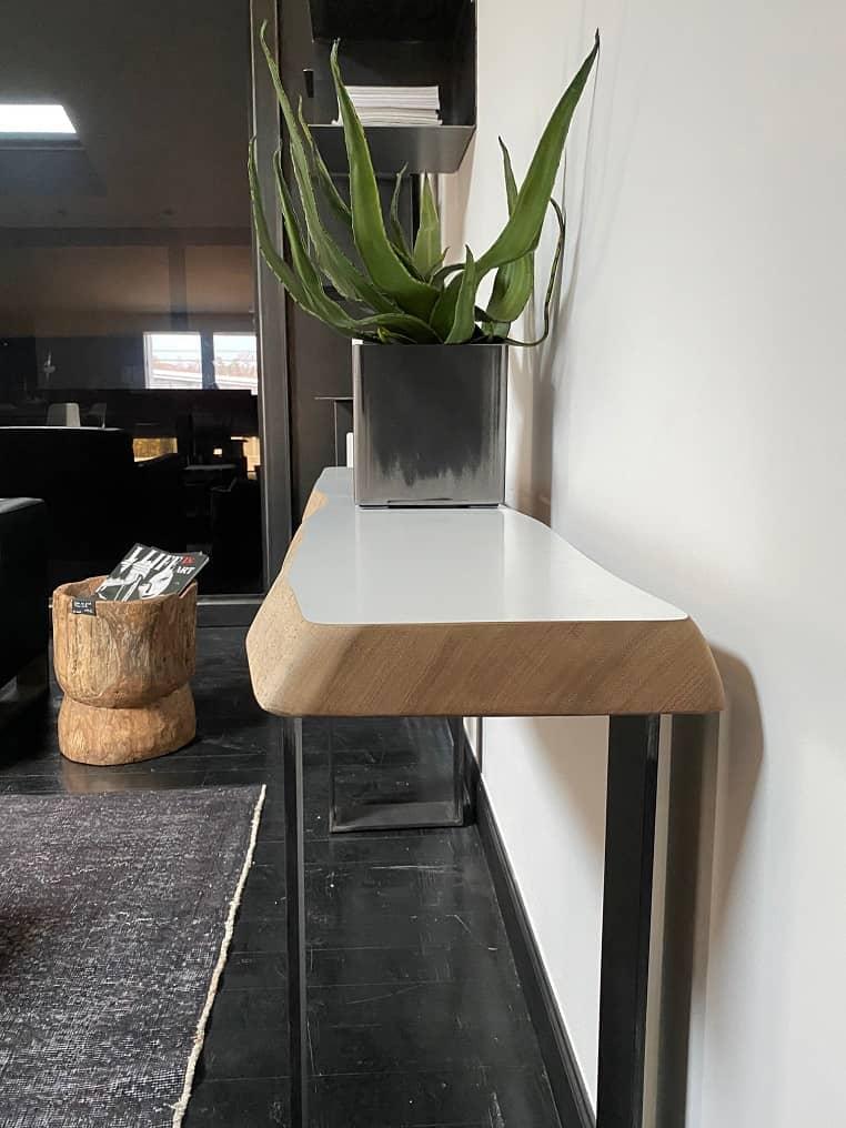 Tables bois et acier
